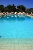 Cena da piscina do recurso Fotos de Stock Royalty Free