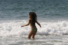 Cena da praia Imagem de Stock
