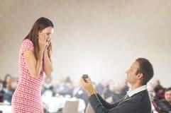 Cena da proposta Fotografia de Stock Royalty Free