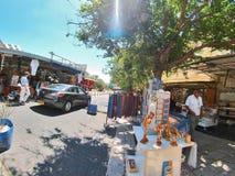 Cena da rua da cidade de Nazareth Imagem de Stock Royalty Free