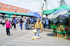Cena da rua de Cidade do México foto de stock royalty free