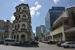 CENA DA RUA DE HAVANA CUBA Foto de Stock