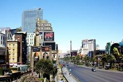 Cena da rua de Las Vegas Foto de Stock Royalty Free