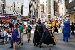 Cena da rua de Manhattan Foto de Stock