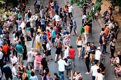 Cena 4 da rua de Paris Foto de Stock