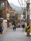 Cena da rua de Seoul Fotos de Stock