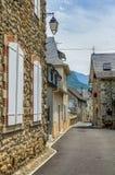 Cena da rua em Borce, França Imagens de Stock Royalty Free