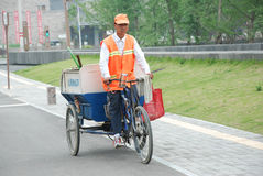 Cena da rua em China Fotografia de Stock Royalty Free