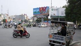 A cena da rua em Hanoi Vietname 2015 Fotografia de Stock Royalty Free
