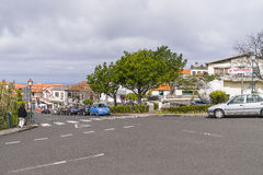 Cena da rua em Madeira, Portugal Fotos de Stock