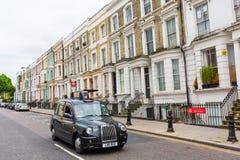 Cena da rua em Notting Hill, Londres, Reino Unido Imagem de Stock