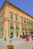 Cena da rua em Valletta Fotografia de Stock Royalty Free
