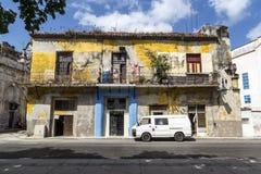 Cena da rua, Havana, Cuba #2 Foto de Stock