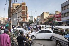 Cena da rua, Nairobi Imagem de Stock Royalty Free