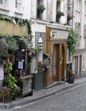 Cena da rua, Paris, França Imagem de Stock Royalty Free