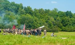 Cena de batalha Fotografia de Stock Royalty Free