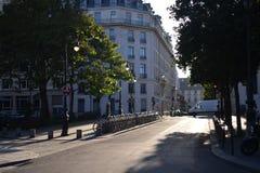 Cena de buiding e de rua de Paris Imagem de Stock Royalty Free