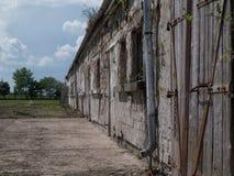 Cena de construção abandonada 2 Fotos de Stock Royalty Free