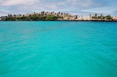 Cena de Galápagos Imagem de Stock