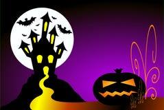 Cena de Halloween Imagens de Stock