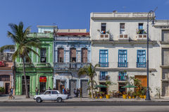 Cena de Havana Steet Fotografia de Stock