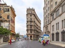 Cena de Havana Steet Imagem de Stock Royalty Free