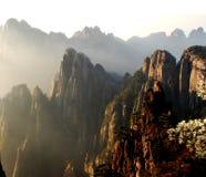Cena de Huangshan Imagem de Stock
