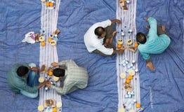 Cena de Iftar Foto de archivo libre de regalías