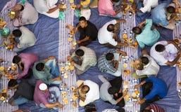 Cena de Iftar Imagen de archivo