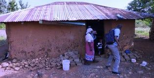 Cena de Kenya ocidental Fotografia de Stock Royalty Free