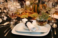 Cena de la acción de gracias Foto de archivo libre de regalías