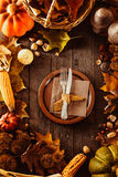 Cena de la acción de gracias Imagen de archivo libre de regalías