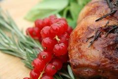 Cena de la carne asada Imagen de archivo libre de regalías