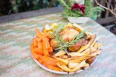 Cena de la Navidad 2016 Fotografía de archivo libre de regalías