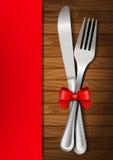 Cena de las tarjetas del día de San Valentín Imágenes de archivo libres de regalías