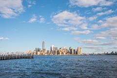 Cena de Manhattan, New York City Fotografia de Stock Royalty Free