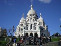 Cena de Montmartre Imagens de Stock Royalty Free
