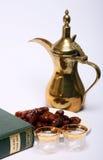 Cena de Ramadan fotografia de stock
