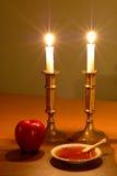 Cena de Rosh Hashanah Imagem de Stock Royalty Free