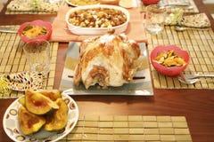 Cena de Turquía Imágenes de archivo libres de regalías