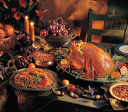 Cena de Turquía Imagen de archivo