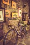 Cena de Tuscan Imagens de Stock