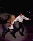 Cena de um desempenho do senhor da dança Fotografia de Stock