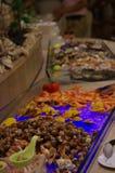 Cena del buffet in Cina fotografia stock