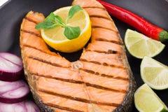 Cena del pesce Fotografia Stock