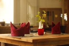 Cena del restaurante Fotografía de archivo libre de regalías