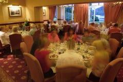 Cena del restaurante Foto de archivo libre de regalías