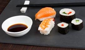 Cena del sushi Imagen de archivo