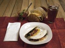 Cena del taco Imagen de archivo