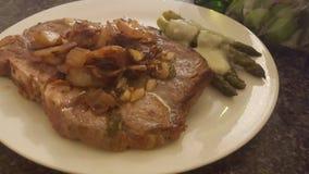 Cena della bistecca Immagine Stock